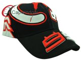 Competir con la gorra de béisbol con el bordado de fresco