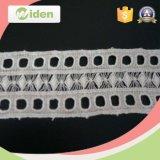 Comprar el cordón cordón blanco en línea del producto químico del bordado de la tela del cordón del guipur