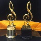 Горячая продажа металла трофей для прослушивания музыки сувенир