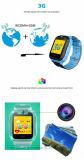 2017 la plus défunte montre de traqueur des gosses GPS avec le WiFi et l'appareil-photo