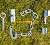UV 안정된 최신 복각 직류 전기를 통한 농장 시골 래치