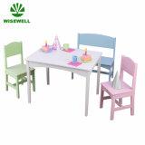 Hölzernes Kind-Schule-Tisch-und Stuhl-Kind-Möbel-Set