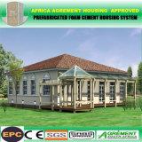 Vertientes industriales prefabricadas constructivas galvanizadas de la construcción del marco de acero del bajo costo