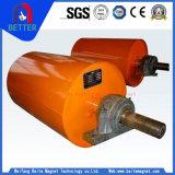 L'ISO/CE a approuvé l'exploitation minière sec/humide du séparateur magnétique/poulies magnétique pour le minerai de magnétite séparant
