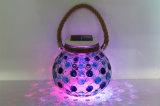 LED-Feiertags-Solarbeleuchtung-Garten-bunte herrliche variable Kunst-Lampe
