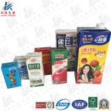 Brik aseptique Pack pour le lait, jus de fruits