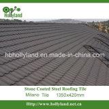 Mattonelle di tetto rivestite del metallo della pietra variopinta di Milano