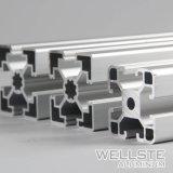 in Voorraad 30/60 de Uitdrijvingen van het Aluminium van de Groef van T voor Materiële Behandeling