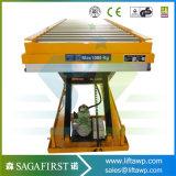 1トン3tonは5トンの標準のおよびカスタマイズされた油圧上昇表のローラーを切る
