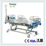 Eléctrica de tres funciones&Manaul cama de hospital