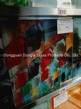 vetro macchiato/vetro temperato di categoria A stampa di Digitahi per uso progettato moderno