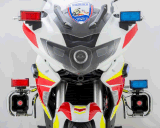 Senken 110dB~120dB Polizei-Motorrad-warnender Lautsprecher u. Sirene