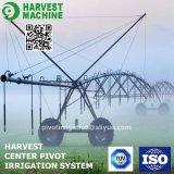 農場の潅漑のためのスプリンクラーの用水系統
