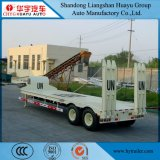 60ton 13m 3axles Lowboy/Lage Jongen/Lage Dek/Lowbed/de Lage Semi Aanhangwagen van de Vrachtwagen van het Bed