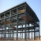 Vor ausgeführter moderner Metallspeicher verschüttete Stahlkonstruktion-Gebäude