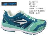 De blauwe Schoenen van de Tennisschoen van de Grootte van de Vrouwen van Kleuren