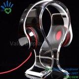 U-Form-Raum-Acrylkopfhörer-Bildschirmanzeige-Halter-Kopfhörer-Bildschirmanzeige-Zahnstange, Qualitäts-Acrylkopfhörer-Ausstellungsstand