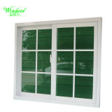 China Factory White Frame Single Glass UPVC Window