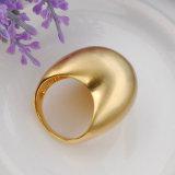 De grote Ring van de Manier van het Koper van de Juwelen van de Dames van het Ontwerp Imitatie zonder Steen