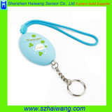 Многоцветный Персональный сигнал тревоги 120 дб с цепочки ключей для женщин с детьми в возрасте HW-3212