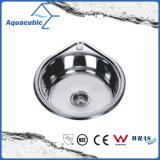 Único dissipador do aço inoxidável da cozinha da bacia (ACS5350)