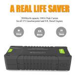 20000mAh Batterie de voiture d'urgence de la Banque d'alimentation Compact Mini Jump Starter