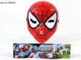 Brinquedos de máscara de rosto de plástico Cartoon Cartoon para crianças