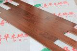 Los suelos de madera maciza de nogal americano de la moda con la certificación ISO