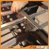 흑색 화약 코팅을%s 가진 용접된 직류 전기를 통한 강철 창 담을%s