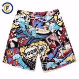 Swimwear di Short della scheda degli uomini modellato poliestere pieno della vita di Oeko-Tex