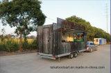 D'alimentation remorque utilisée pour la vente de nourriture des camions en Allemagne