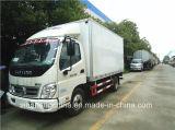 Hot Sale Foton 4X2 de 5 tonnes de fret congélateur Van petit réfrigérateur chariot