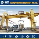Кран на козлах прогона 600 тонн более обширный двойной с профессиональной конструкцией