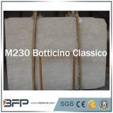 Amarillo/beige baldosas del suelo de losas de mármol de color diseño de interiores