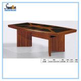 Таблица конференции офисной мебели прямоугольная деревянная (FEC C128)