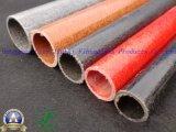 Antiestáticas y peso ligero de tubo de fibra de vidrio