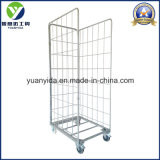 Guter Verkauf Reißverschluss zugemachter galvanisierter Lager-und Supermarkt-Speicher-Rollenbehälter