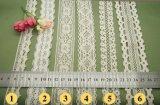 Merletto del Doppio-Lato del cotone di alta qualità 2018 per la decorazione