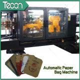 Bolsa de papel completamente automática de Kraft de la impresión de Flexo que hace la máquina
