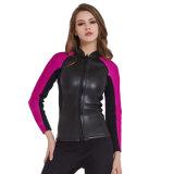 Wetsuit de cuero del material 2m m para las mujeres