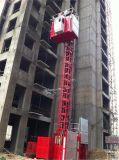 Baustelle-Höhenruder-Aufzug-Doppelt-Rahmen Fabrik-China-2t