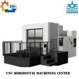 Centro di lavorazione orizzontale di CNC del tipo della struttura del commutatore del pallet rotativo