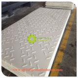 En PEHD à usage intensif de tapis de la route temporaire/ Tomporary chaussée