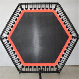 Populäre Aerobics-Eignung-Spitzentrampoline mit Adjustabel Griff-Stab