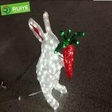 LED 주제 빛 훈장 토끼 빛 눈사람 LED 토끼 빛