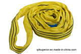 Imbracatura di nylon di sollevamento della tessitura della cinghia del poliestere