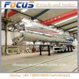 De fabriek levert de Aanhangwagen van de Tank van het Water van het Staal van Aluminium 30-60 Kl voor Verkoop
