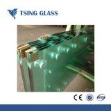 Изогнутая / плоского закаленного закаленное стекло с полированной пальчикового типа кромки