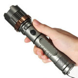 Conjunto inteiro CREE LED T6 Lanterna Zoomable 5 Modes Tactical Attack Head Auto Defesa Torch