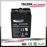 bateria 6V4ah acidificada ao chumbo Emergency recarregável com Ce e certificado do UL